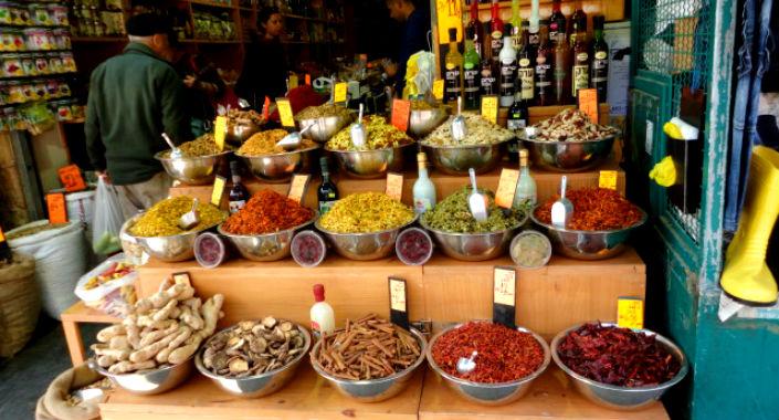 spices in mahane yehuda
